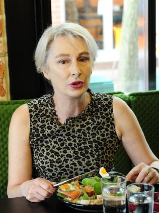 14/11/2014 Lunch with Adelaide City council veteran Anne Moran at Mother Vine wine bar. Pic Mark Brake