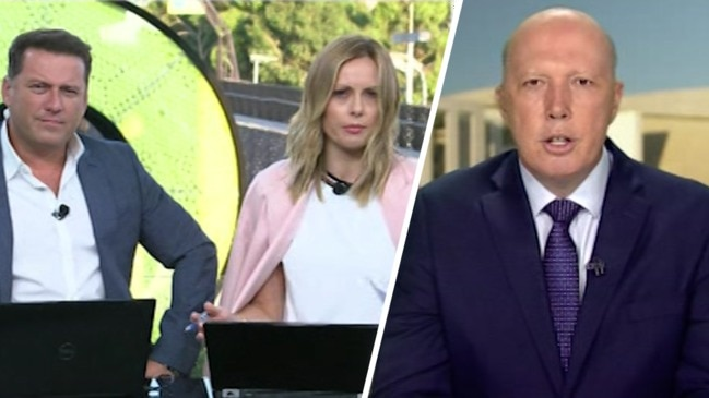 Coronavirus: Peter Dutton grilled over Christmas Island quarantine plan (Today Show)