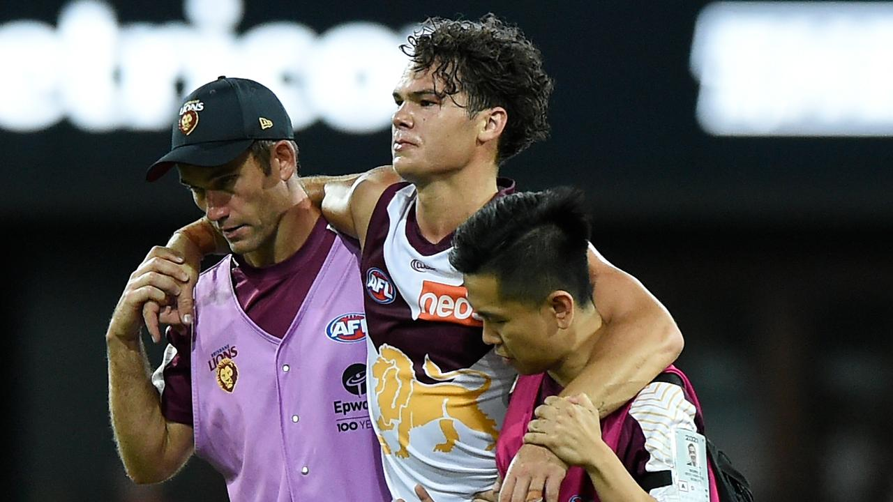 Cam Rayner has a suspected ACL injury.