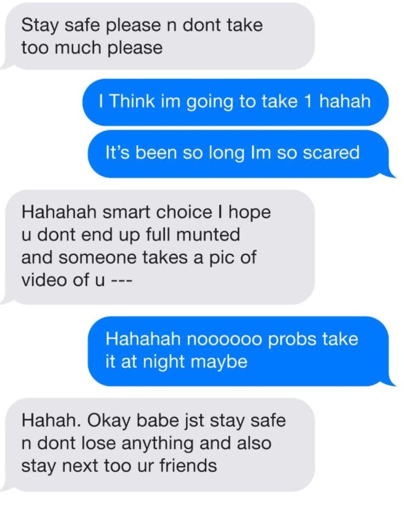 The texts between Ms Nguyen and her fiance were tendered as evidence in a coroner's inquest this week.