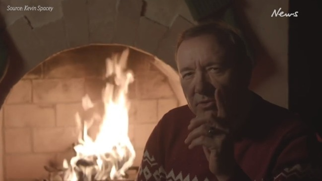 Kevin Spacey's bizarre Christmas message
