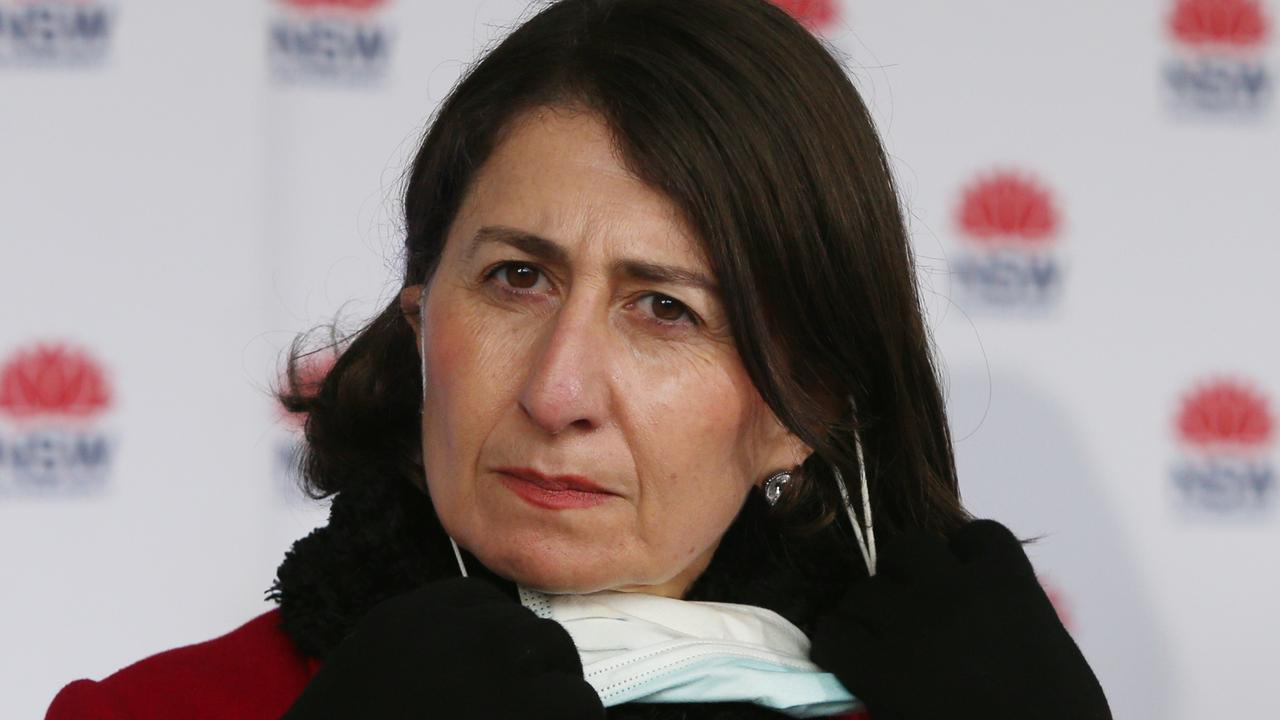 NSW Premier Gladys Berejiklian has been criticised over her delayed decision to impose a lockdown on Greater Sydney amid the latest covid outbreak. Picture: Lisa Maree Williams/Getty Images
