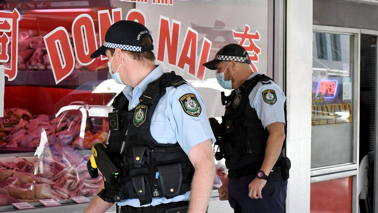 The heavier policing of Sydney's west and southwest has come under criticism. Picture: Matrix