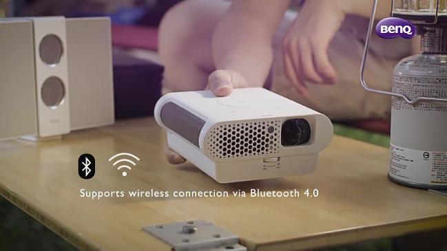 BenQ's amazing portable projector
