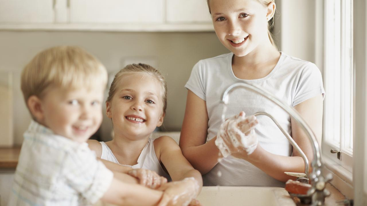 Always wash your hands before eating. Picture: iStock/Getty Images