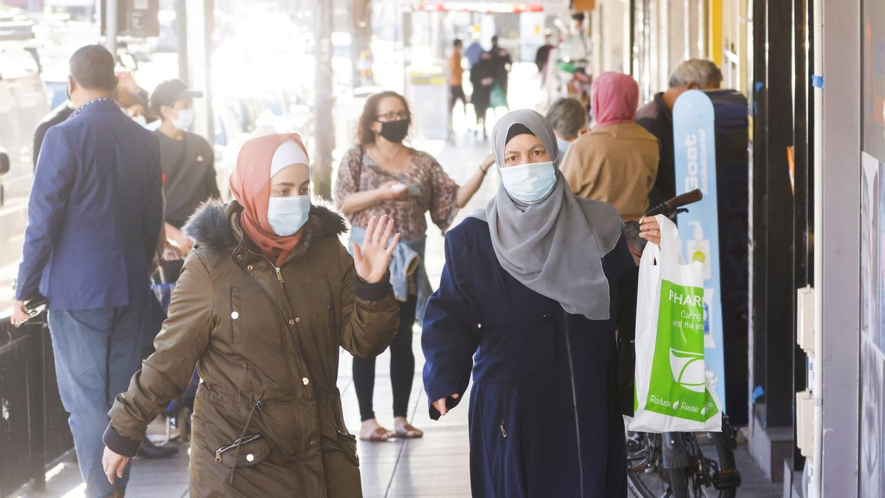 Haldon Street in Lakemba. Picture: Jenny Evans/Getty Images