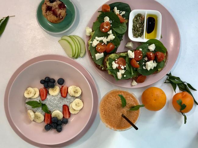 Ellie May's Nook breakfast selection. Picture: Jenifer Jagielski