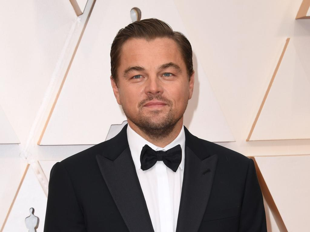 Actor Leonardo DiCaprio is said to have had his brows shaped by Ms Hamilton-Clarke. Photo: Robyn Beck / AFP