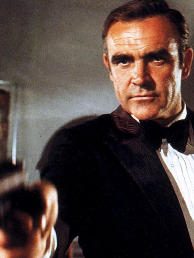 Sean Connery in 1971 film Diamonds Are Forever.