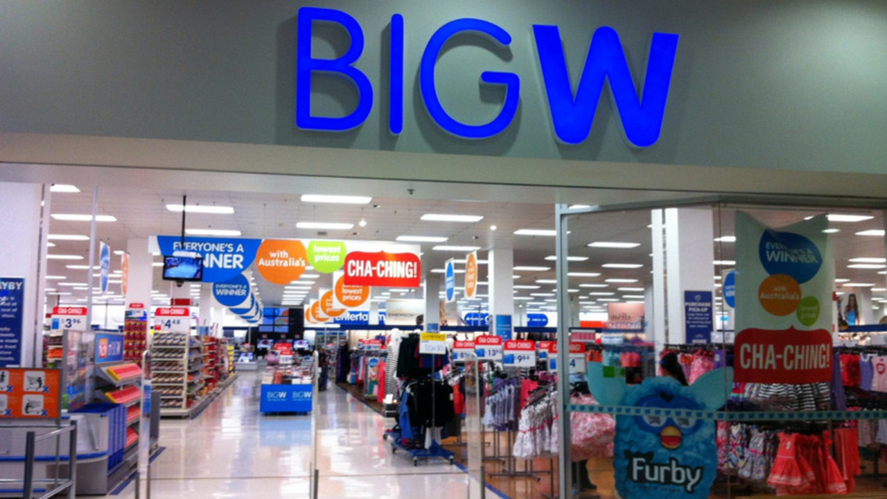 A Big W warehouse in South Australia will close and another in Queensland.