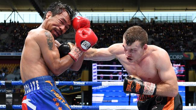 Jeff Horn stunned the boxing world when he scored an upset win against Manny Pacquiao in Brisbane.