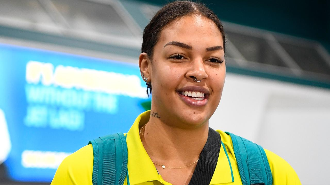 Liz Cambage at this year's Commonwealth Games is the top scorer at the World Cup in Spain.
