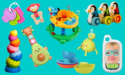 Best toys to help your 6 month old baby develop