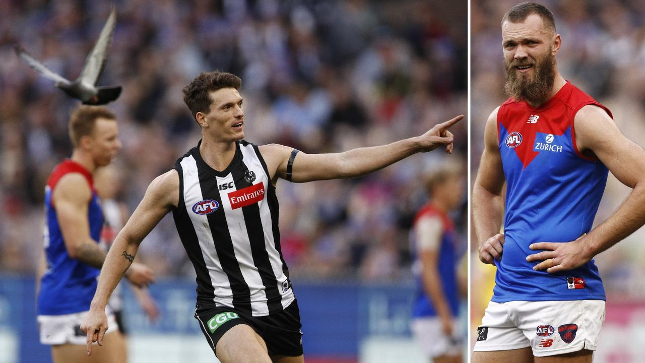 The Magpies rolled back into form on Queen's Birthday, but it's season over for the Demons.