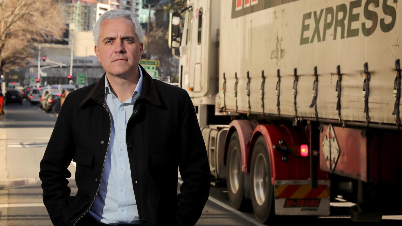 TWU national secretary Michael Kaine. Picture: Stuart McEvoy/The Australian