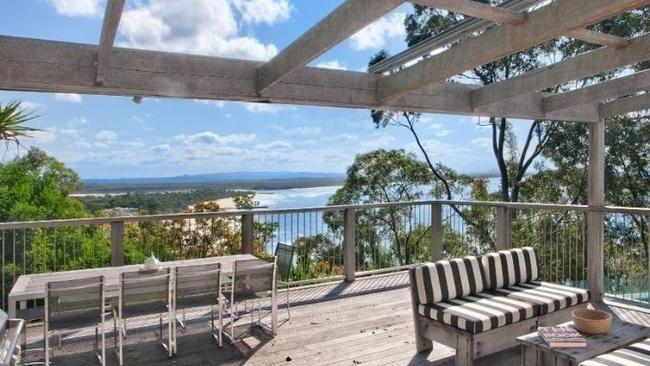 The view from the deck at 5 Allambi Rise, Noosa Heads.