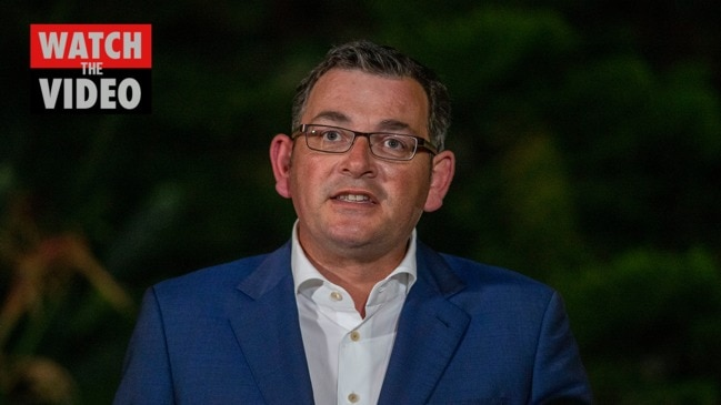 "Daniel Andrews: ""I am confident we've got this in good time"""