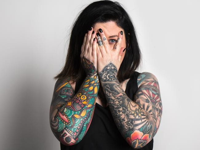 """Chirryl-Lee Ryan says her tattoos are her """"greatest business asset""""."""