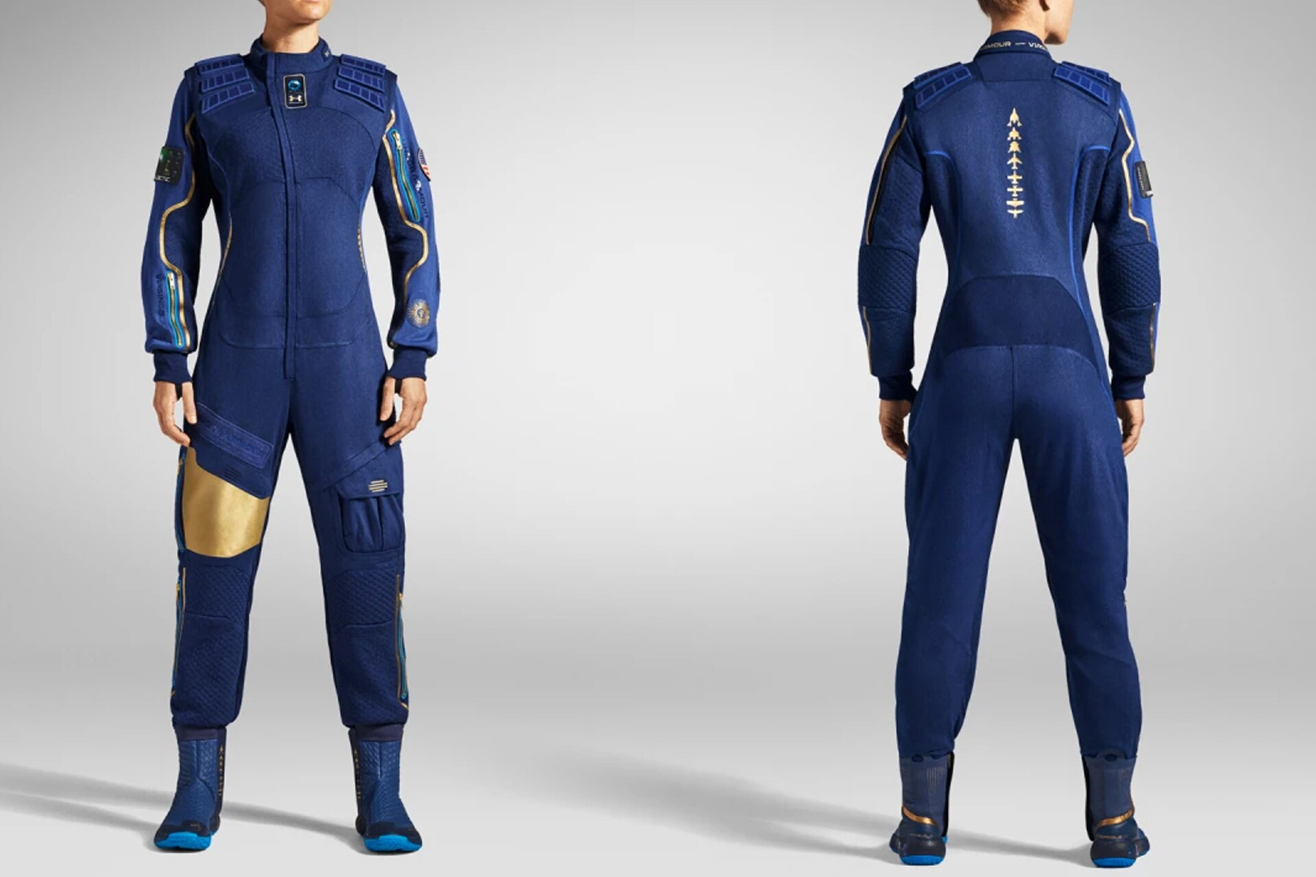Under Armour Just Revealed The Suits Tourists On Virgin Galactic's Space Flights Will Wear