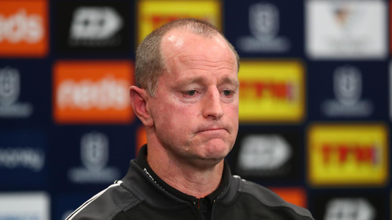 Coach Michael Maguire says things need to change at the Tigers. Picture: Getty