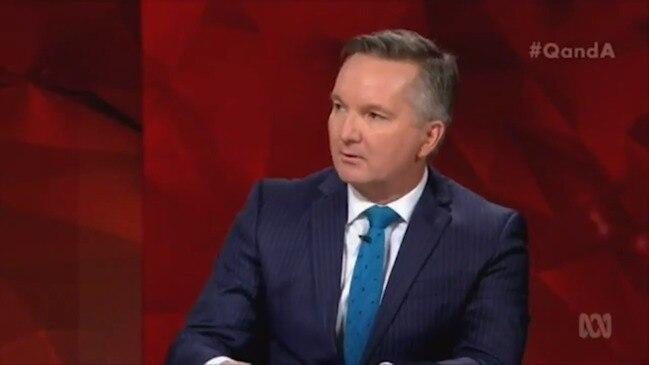 Chris Bowen slams Clive Palmer on Q&A
