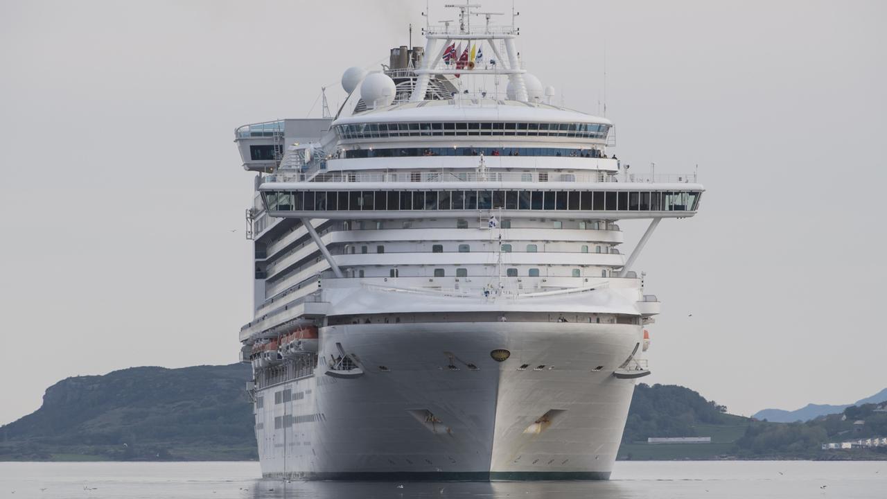 Emerald Princess. Picture: supplied New Zealand cruise, Jason Dutton-Smith Sunday Escape