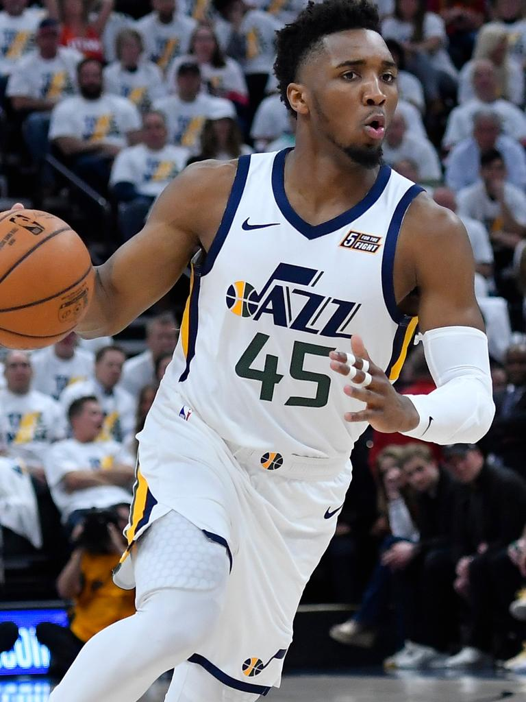Donovan Mitchell was filthy with Gobert.
