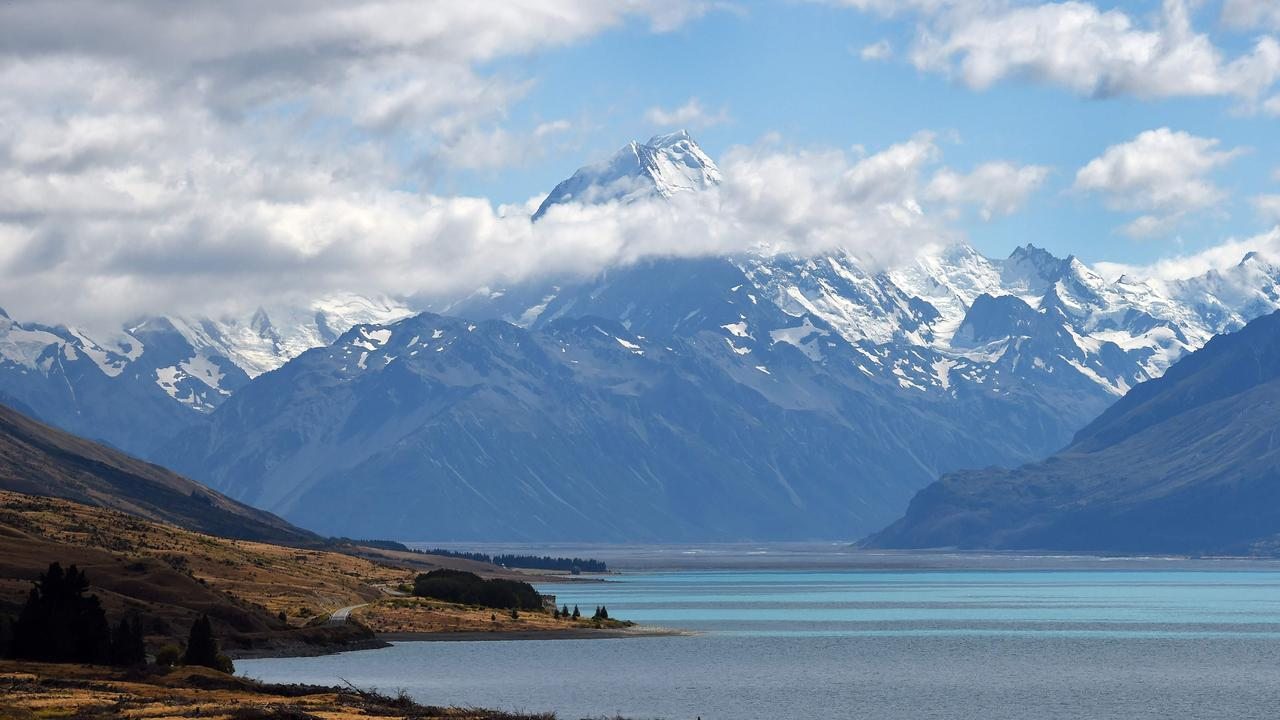 Maori and English names are used alongside one another in some instances such as in the naming of Aoraki/Mount Cook on the South Island. Picture: AFP PHOTO / William WEST.