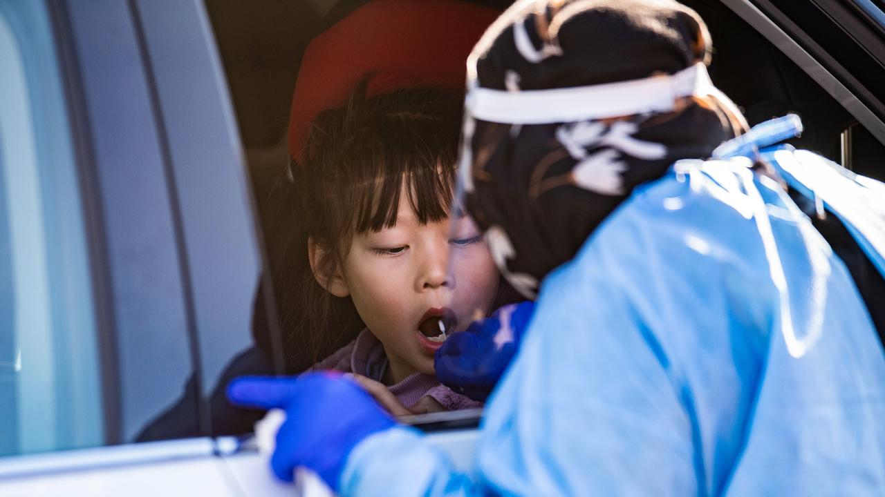 Trials are underway around the world for vaccinating children under the age of 12, but that is unlikely to yield results until the end of the year. Picture: NCA NewsWire / Dan Peled