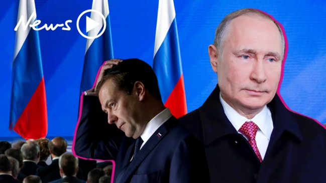 Putin's shake-up: Entire Russian government resigns