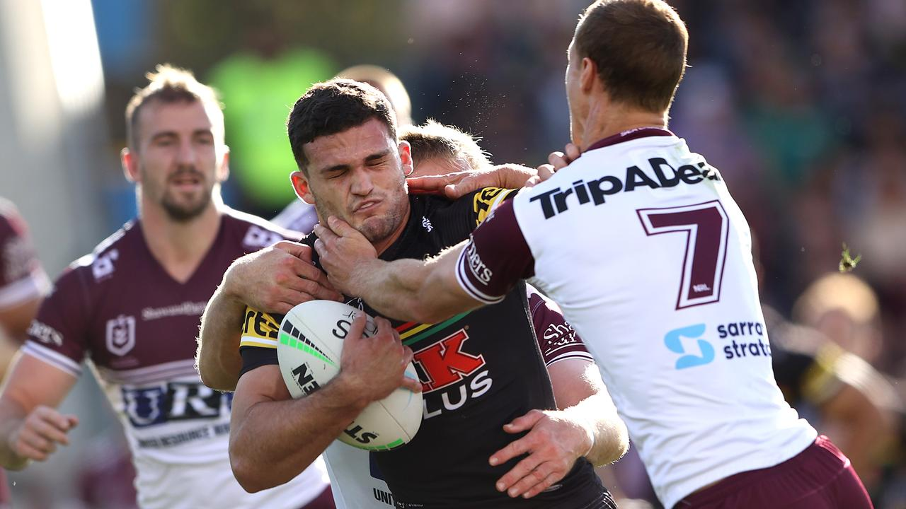 Nathan Cleary dominated Daly Cherry-Evans.