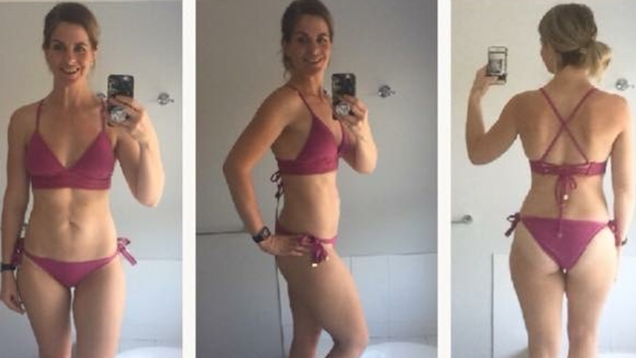 She has maintained her fitness transformation for two years. She now weighs 60kgs.