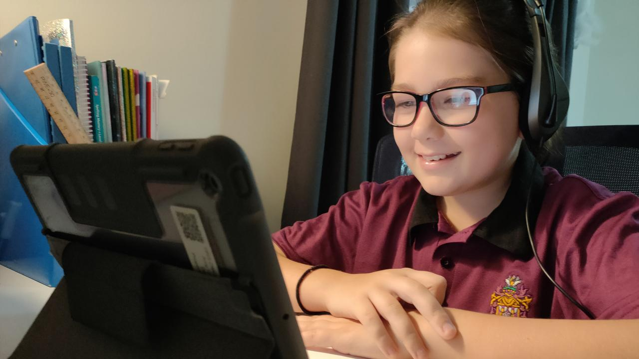 Students have been doing home learning for the majority of term three. Picture: Haileybury Rendall