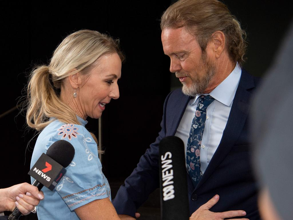 Scammell has played a supporting role to McLachlan. Picture: Bianca De Marchi/NCA NewsWire