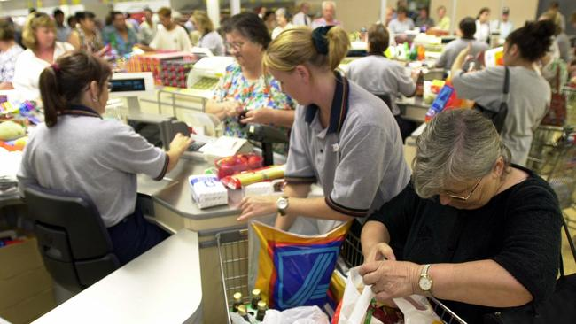 Aldi staff can be sacked if they don't scan 1000 items an hour.