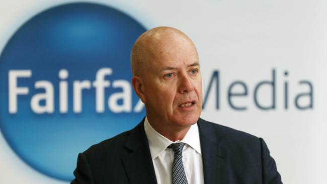Fairfax has announced job cuts. Picture: Aaron Francis/The Australian