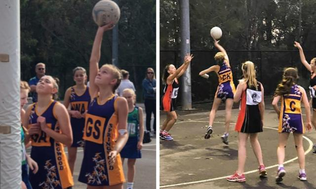 Harriet has always been Netball-mad. Image: 'How I Survived'