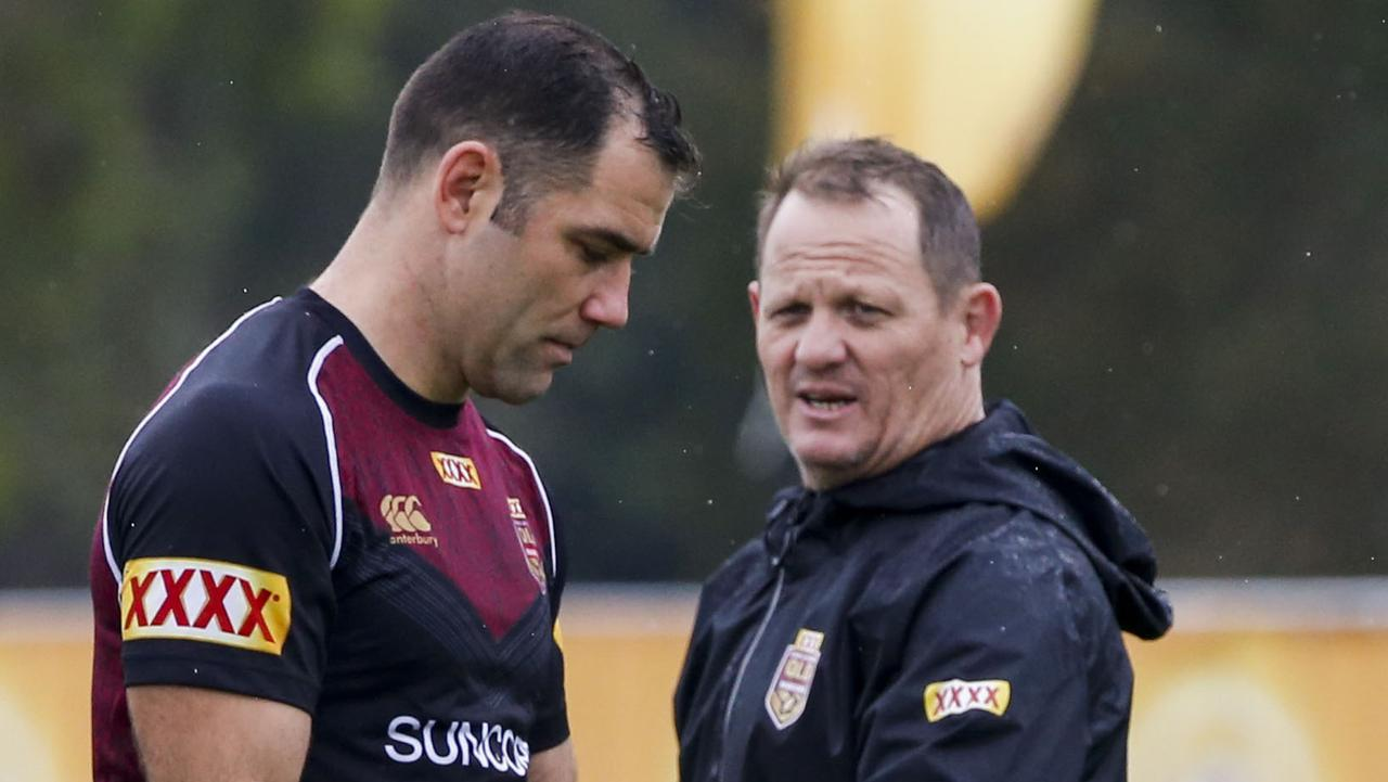 Former Maroons captain Cameron Smith knocked back an offer from coach Kevin Walters to help mentor their new hooker.