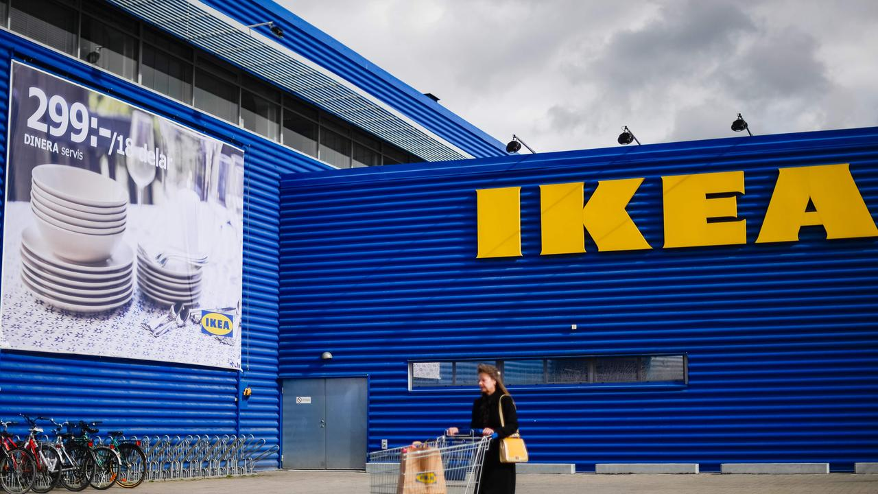 The Swedish retailer had to delay the distribution of its yearly catalogue in the US because of a potentially offensive image. Picture: Jonathan Nackstrand/AFP