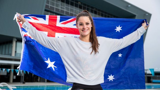 Women's 100m backstroke World Record holder Kaylee McKeown has withdrawn from the women's 200m individual medley at the Tokyo Olympics. Picture: Lachie Millard