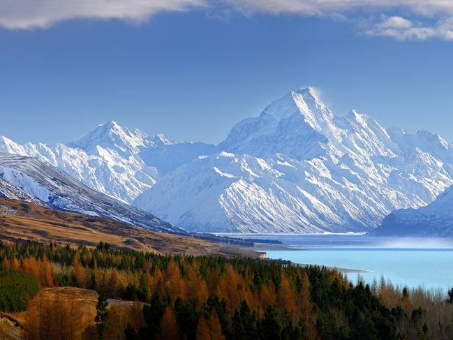 5/20Visit the highest mountain in New ZealandHead to the Southern Alps to visit Aoraki/Mt Cook, which at 3724 metres is New Zealand's highest mountain. More than one-third of the Mt Cook National Park has a permanent blanket of snow and glacial ice. There are a number of short walks to take in the area. Picture: Rob Suisted