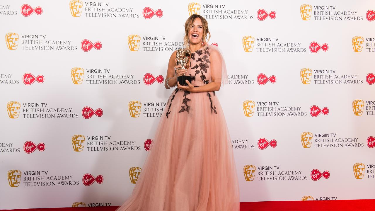 She won the award for Best Reality and Constructed Factual Series for Love Island at the British Academy Television Awards in 2018. Picture: Jeff Spicer/Getty Images