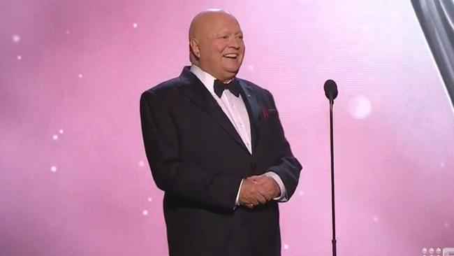 Bert Newton's gag was widely condemned. Picture: Channel 9