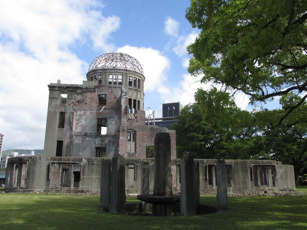 The Atomic Dome in Hiroshima Peace Memorial Park. Picture: Mitchell Jordan