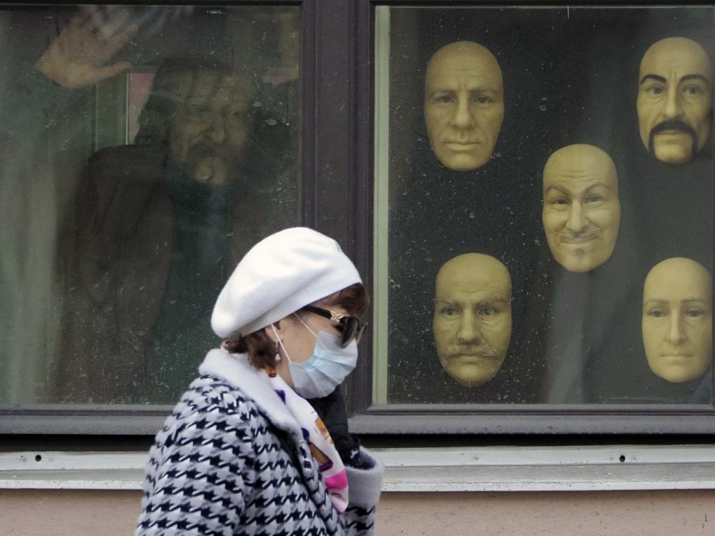 In St Petersburg, Russia, there has been a steady rise in the number of infections. Picture: AP