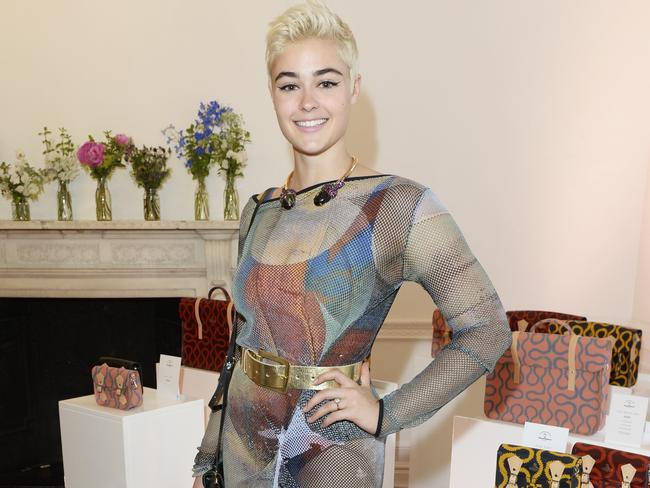 The model, pictured at the Vivienne Westwood launch party in London in 2015, is a vocal advocate for positive body image. Picture: Dave Benett/Getty Images