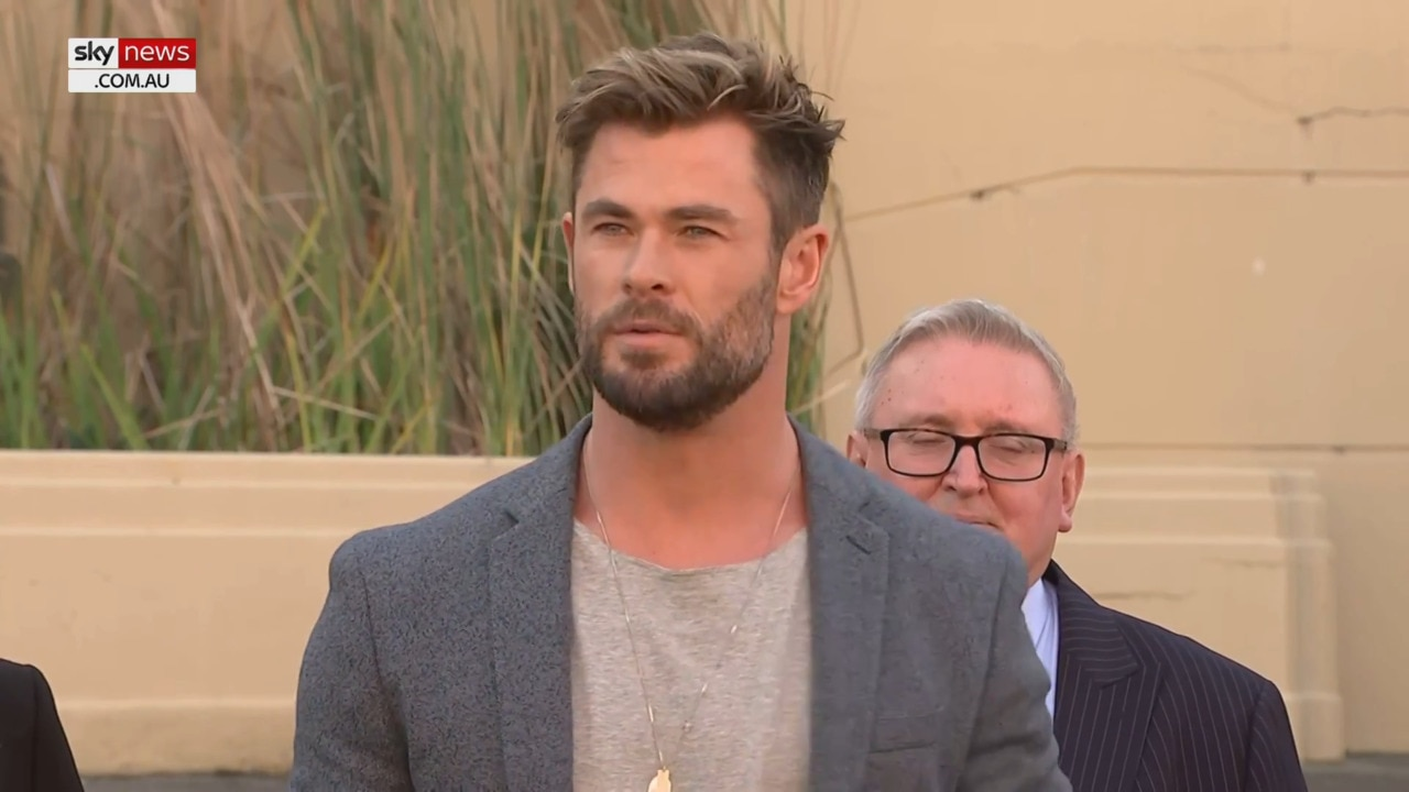 Chris Hemsworth: 'Dream come true' to be filming in NSW