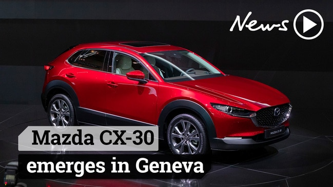 Mazda CX-30 emerges in Geneva