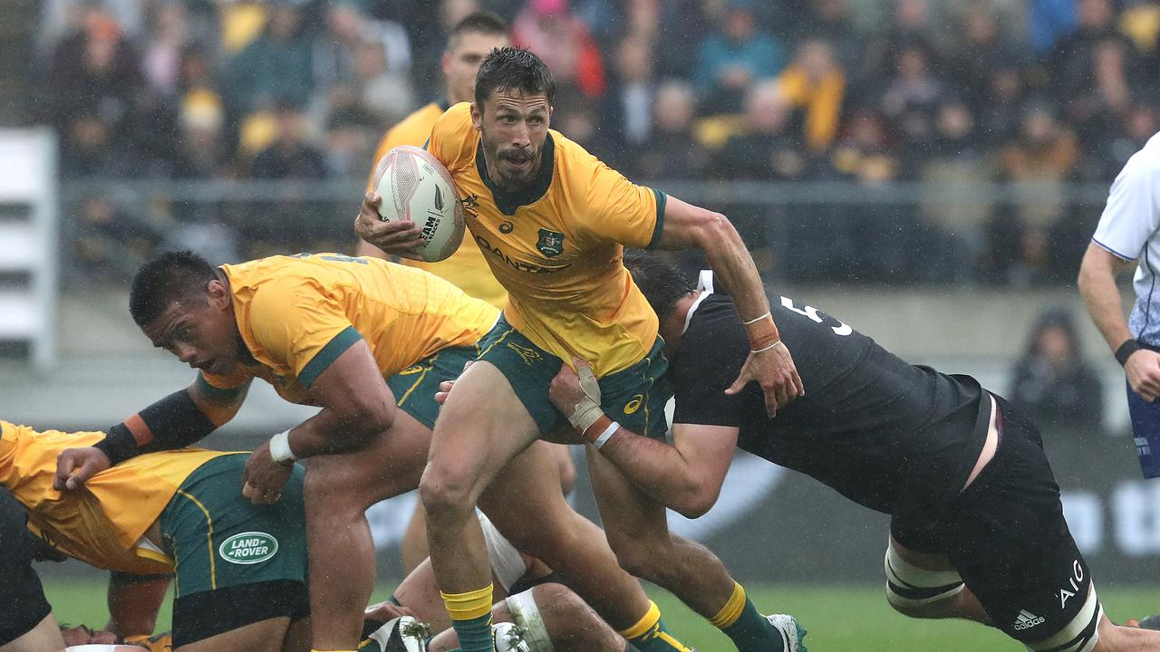 Wallabies halfback Jake Gordon will wear the No.9 jersey against France in Brisbane. Photo: Getty Images