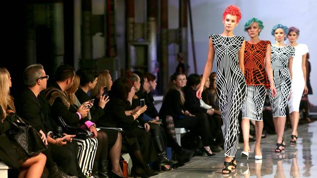 The Myer Spring Summer SS15 Fashion launch at Carriageworks.